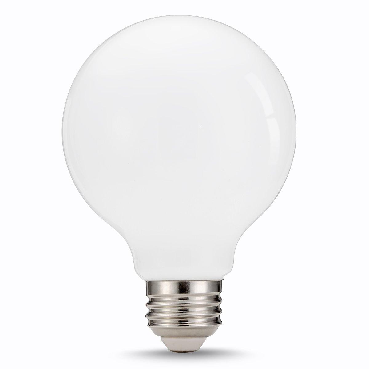 Tgmold 9w g25 led glass ceramic bulb natural white 4000k 60w equivalent for led globe bulbs 360 degrees angles e26 screw base lighting bulb not