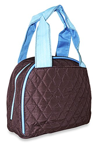 Solid Quilted Lunch Bag - Solid Quilted Bag