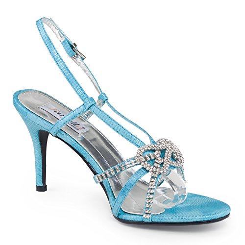 Sandales Bleu Strass Taille 40 Farfalla Sandales Farfalla Uk Couleur 7 dqwAT1xX