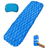 Sleeping Pad, X-Lounger Ultralight Inflatable Sleeping Mat for Camping,Hiking and Other Outdoor Activities
