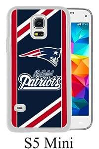 New England Patriots 06 White Samsung Galaxy S5 Mini Screen Phone Case Genuine and Unique Design