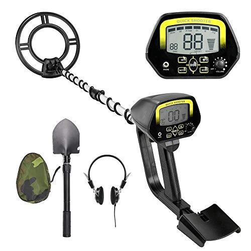 (Metal Detector Professional Detectors Underground Treasure Finder (Stretch 24-33.46 Inches) MD-4060)