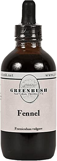 Greenbush Fennel Concentrate 4 oz Liquid Extract, 240 Doses Mental Health
