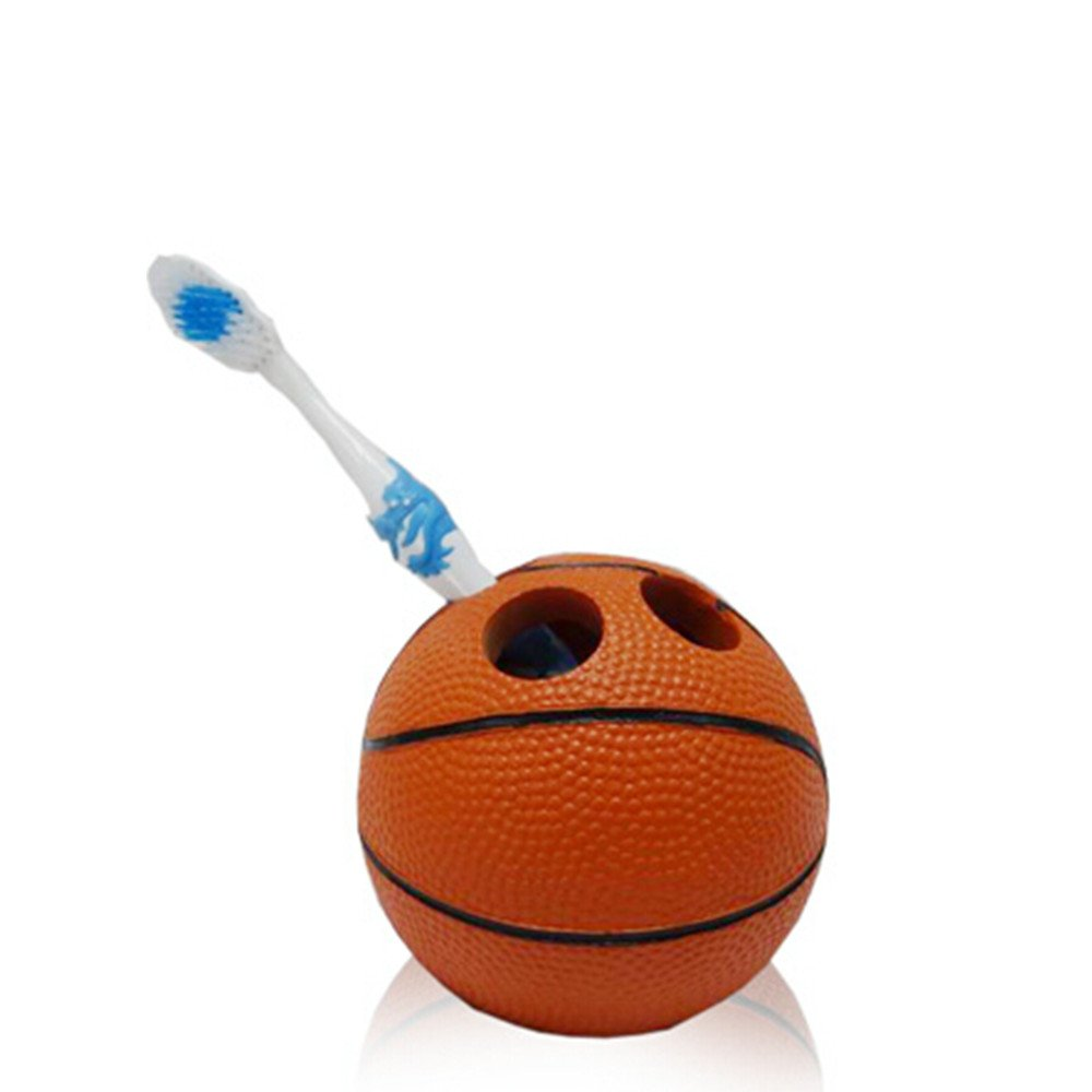 Superbe Amazon.com: YOURNELO Basketball 5 Piece Bathroom Accessories Collection  Set: Home U0026 Kitchen