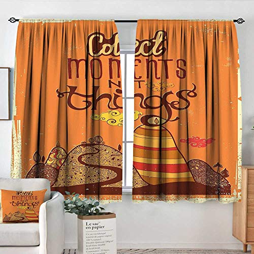 Elliot Dorothy Curtains for Living Room Quote,Vintage Aged