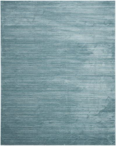 Safavieh Vision Collection VSN606B Modern Contemporary Ombre Chic Area Rug, 9 x 12 , Aqua