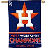 Houston Astros WinCraft 2017 World Series Champions 28'' x 40'' One-Sided Vertical Pole Flag Banner