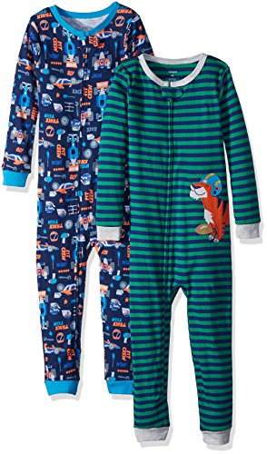e6b558681 Snug Fit Cotton Footless Pajamas