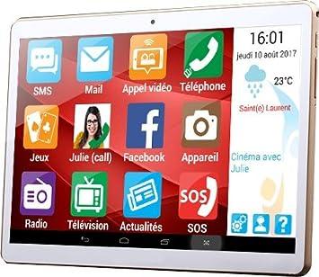Tablet Senior ergomind, 10,1 , + funda [para Senior ...