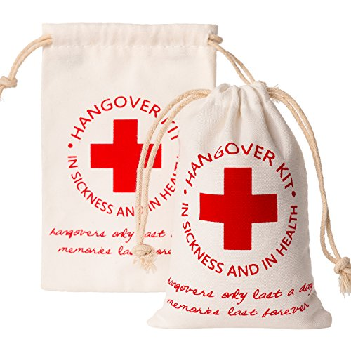 Crisky Recovery Kit Bags for Bachelorette Party Decorations,