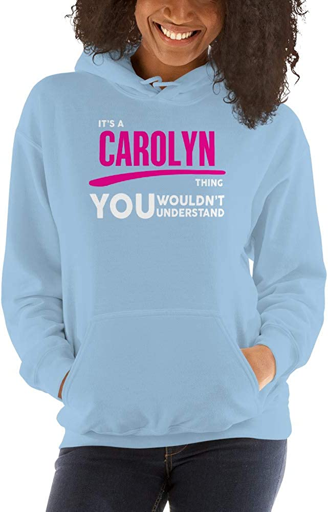 You Wouldnt Understand PF meken Its A Carolyn Thing