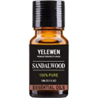 Aromaterapia aceites esenciales de sándalo 100% puro orgánico y terapéutico grado aceites perfumados 0.3 fl oz perfecto…