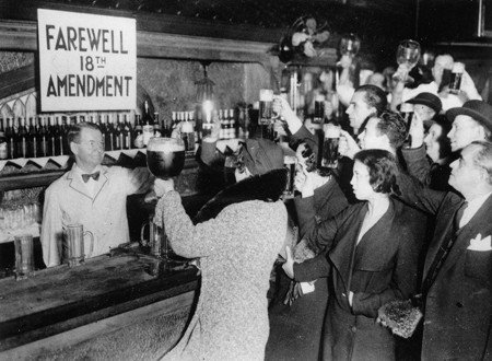 December-5th-1933-The-Night-They-Ended-Prohibition 8 x 10 Classic Old Photos Vintage Classic Rare Find (Vintage Rare Photo)