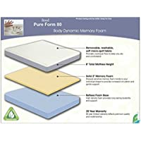 Brand New Boyd Pure Form 8 Memory Foam Mattress (Twin)