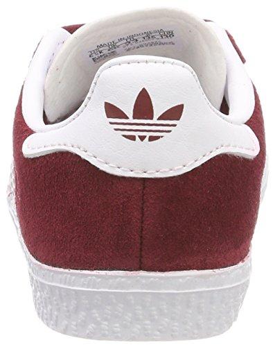 adidas Gazelle, Zapatillas Unisex Bebé Rojo (Buruni / Ftwbla / Ftwbla 000)