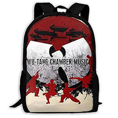 Wu-Tang CHAMBER MUSIC Boys Girls School Bag Backpack Bookbag College Shoulder Bag For Travel: Clothing