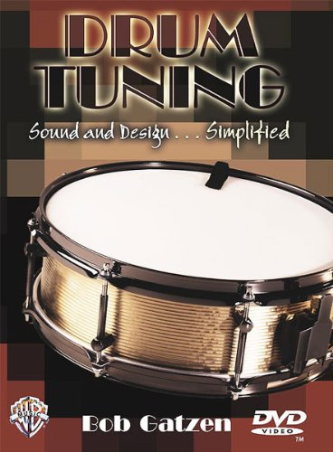 Alfred 00-904822 Drum Tuning- Sound and Design ... Simplified - Music Book B002YAMEVM