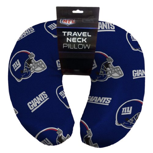 NFL New York Giants Beaded Spandex Neck Pillow (Ny Throw Pillow)