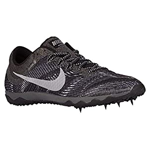 NIKE Zoom Rival XC Cross Country Distance Track Spikes Shoes Mens Size 12.5 (Black, Metallic Silver, Grey)