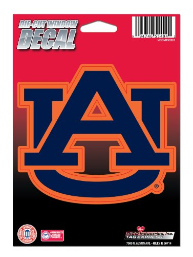 NCAA Auburn Tigers Die Cut Vinyl Decal