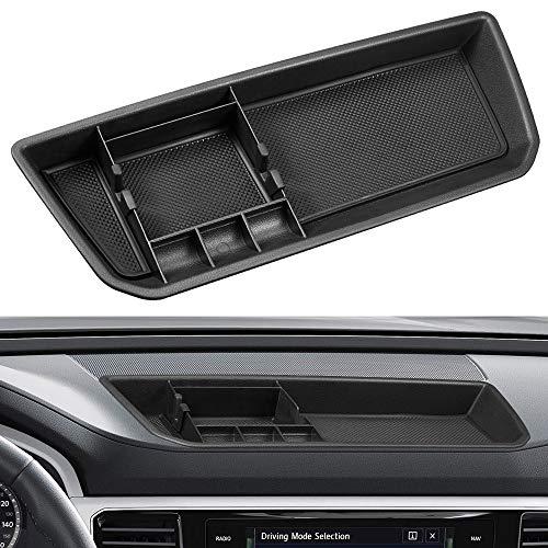 JoyTutus Interior Car Center Console Organizer Tray Dashboard Storage Box for VW Volkswagen Atlas 2018 2019 Automotive Center Consoles Insert Tray