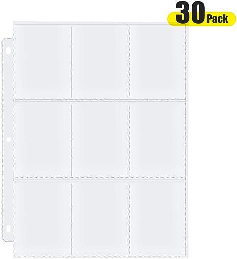 Amazon.com: AHGXG - Funda transparente para tarjetas de ...