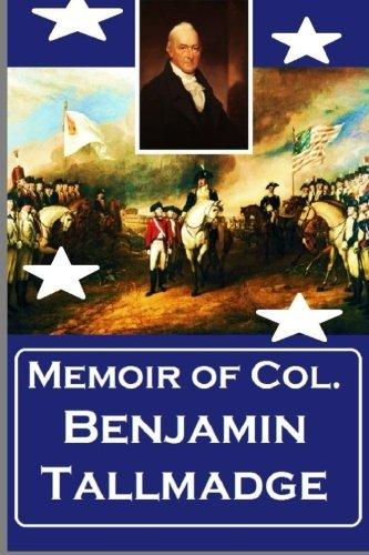 Alexander Rose - Memoir of  Col. Benjamin Tallmadge
