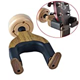 Guitar Hanger, Astory Auto Lock Rack Hook Holder Keeper Wall Mount Bracket Home Studio Display Fits All Size Guitar, Acoustic, Bass, Mandolin, Banjo
