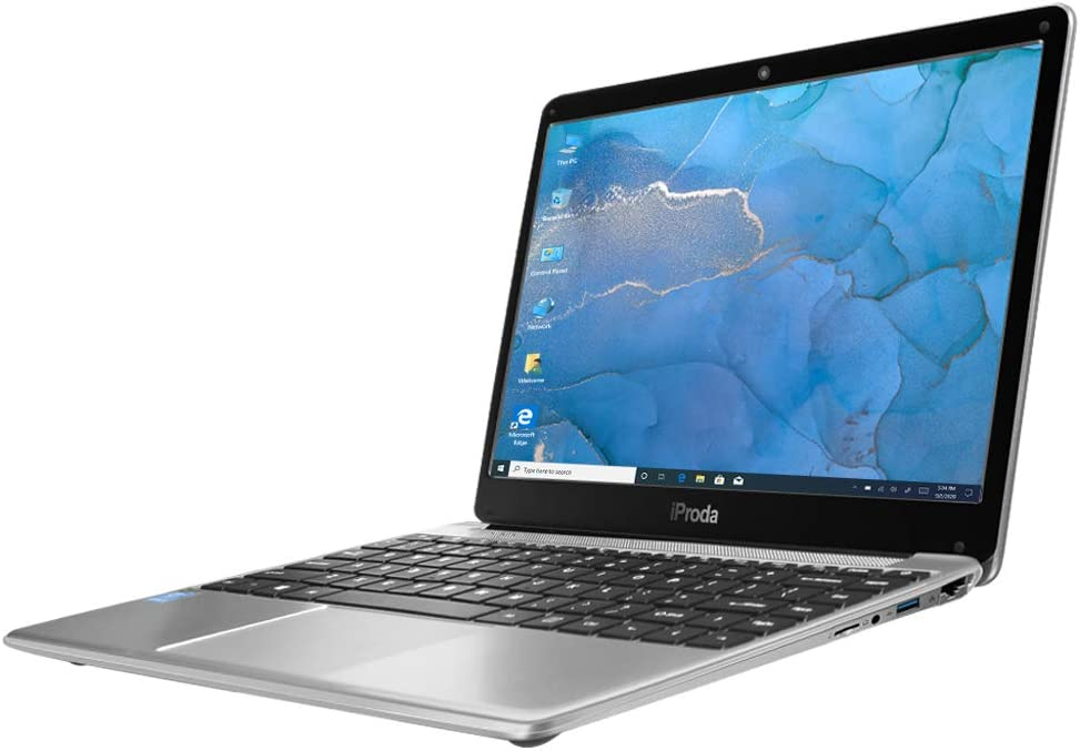 iProda 14inch Laptop, Intel i3 Notebook (up to 2.4GHz), 8GB Memory, 256GB SSD, Full HD IPS 19201080 Display, Windows 10 Pro, Perfect PC for Student and Home use (Intel i3)