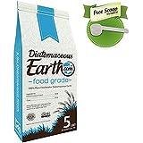 Diatomaceous Earth 5 Lbs Food Grade DE - Free Scoop, Non-Toxic, Food Grade …