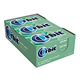 Orbit Sweet Mint Sugarfree Gum, (Pack of 12)