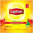 $7.77 冷热皆宜 美式家庭最爱 Lipton 立顿经典红茶茶包分享装 共312包