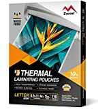 Everest Thermal Laminating Pouches - 8.9 x 11.4 Inches - 5 MIL Thick - 110 Pouches - Letter Size