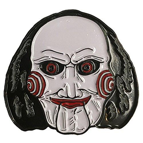 SAW Movie Billy Puppet Enamel Pin -