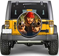 Pirate Weapon Sticker Full Color Spare Tire Cover Decal, Sticker Wheel Cover gc1667
