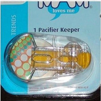 Amazon.com: MAM tendencias Clip para chupete Keeper 1 Pk ...