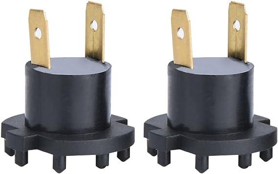 Qiilu Paar Scheinwerfer Lampenfassung Für 3 5 B28v510a3 Auto