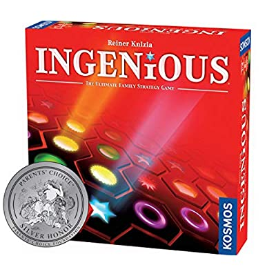 Ingenious | Ultimate Family Strategy Game | 1 – 4 Players | Spiel Des Jahres-Nominated | Fun Abstract Tile Laying | Winner Golden Geek Award: Toys & Games