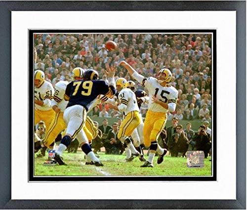 (Bart Starr Green Bay Packers Action Photo (Size: 12.5