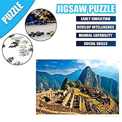 Jigsaw Puzzles 1000 Pieces for Adults, Puzzles Puzzle Play Brain Teasers Handmade Game for Teens Kids: Toys & Games