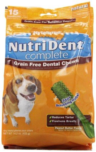 Nutri Dent Grain Free 15 ct Pouch (Tfh Chicken Bones)
