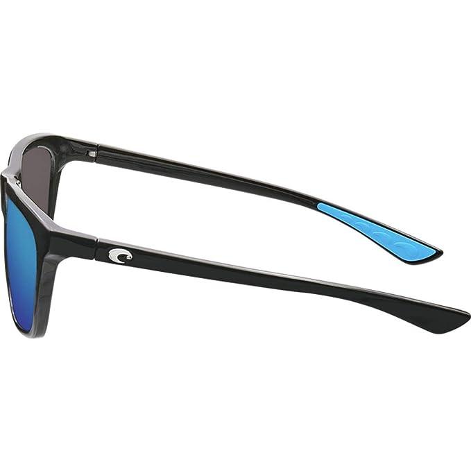 2805fc58709ab Amazon.com  Costa Del Mar - Cheeca - Matte Shadow Tortoise Frame-Grey 580  Poly Polarized Lenses  Clothing