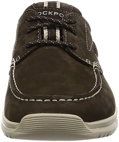Rockport Langdon 3 Eye Homme Chaussures Marron