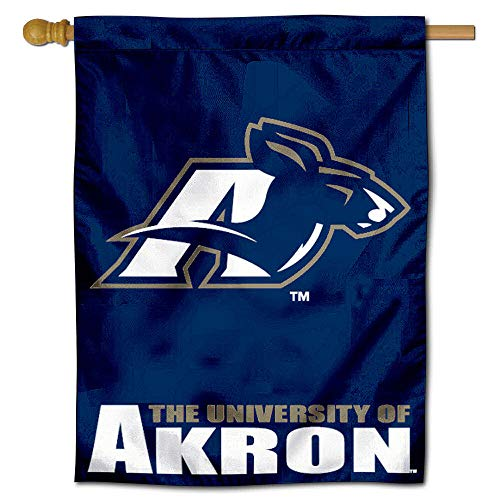 College Flags and Banners Co. University of Akron Zips House Flag