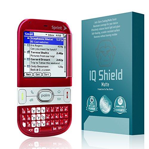 (IQ Shield Matte Full Coverage Anti-Glare Screen Protector for Palm Centro (690) Anti-Bubble Film)
