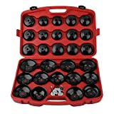 30PCS Cup Type Oil Filter Cap Wrench Socket Removal Tool Set Installing Pick Up Tool Kit For Vehicle Car