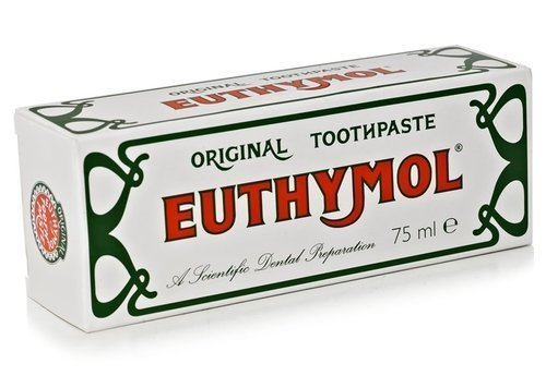 Euthymol Original Toothpaste 75ml 3 (triple pack) (Toothpaste Pizza)