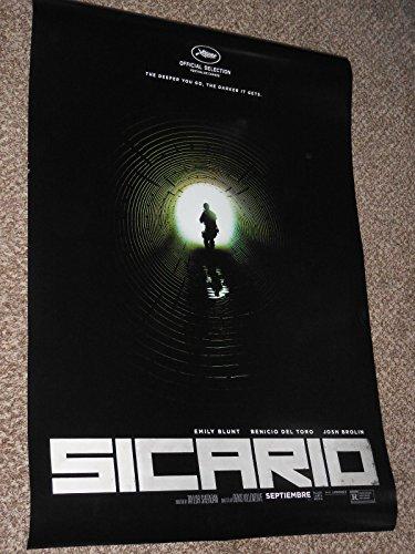 Sicario Original D/S Movie Poster