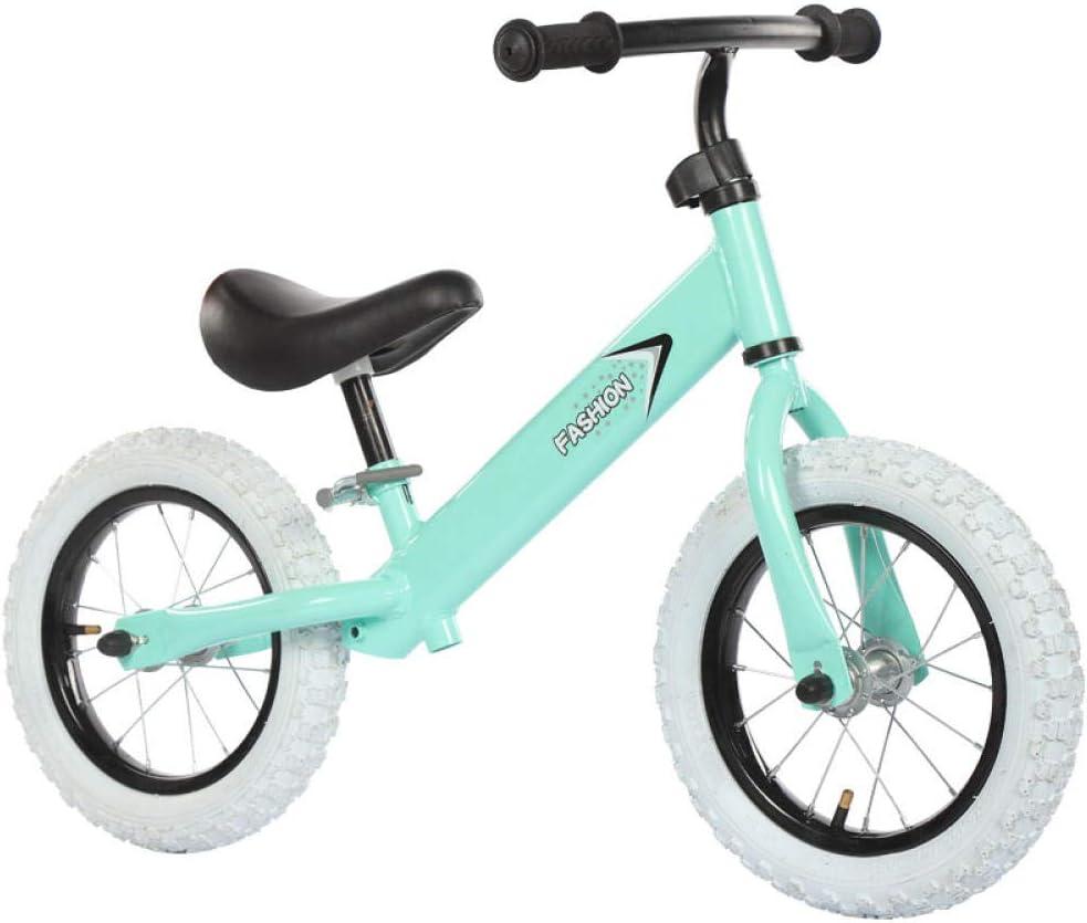 JINGWEIDA Bicicleta sin Pedales 12 Pulgadas 3.4.5 años con ...