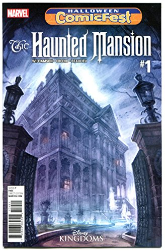 HAUNTED MANSION #1 Halloween Comicfest, Promo, 2016, NM, Horror, Disney Land ()
